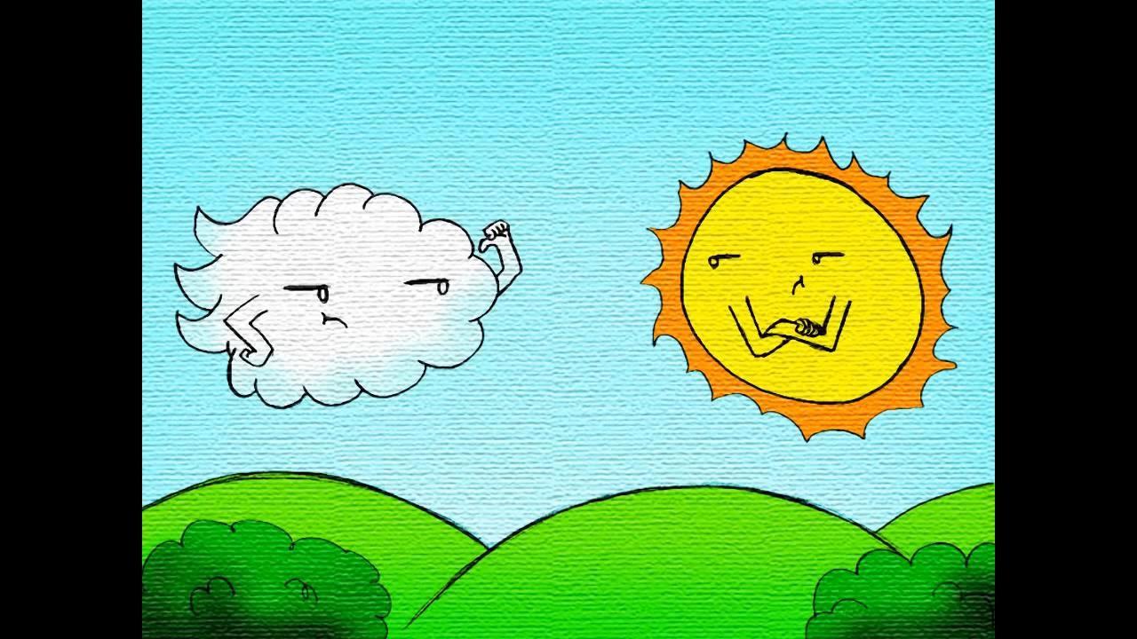 Fbula El viento y el sol  YouTube