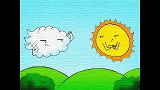 Fábula: El viento y el sol