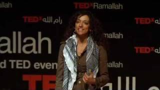 TEDxRamallah - Huwaida Arraf هويدا عراف - Humanity Has No Nationality