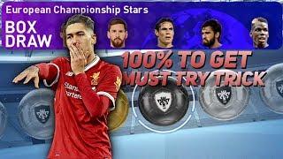 European championship stars box draw #2 best trick ● captain boomerang ●