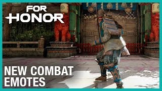 For Honor: New Combat Emotes | Week of 08/01/2019 | Weekly Content Update | Ubisoft [NA]