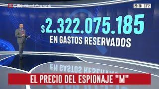 $2.322.075 se gastó en el espionaje macrista