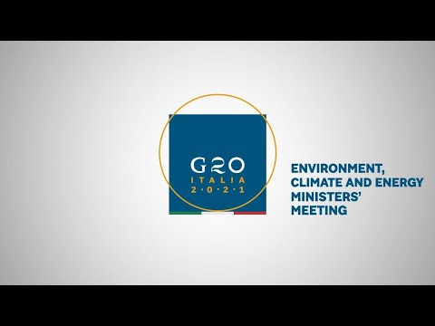 Press Conference of the G20 Environment Ministers' Meeting