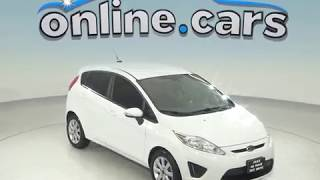 R97770NC Used 2013 Ford Fiesta SE FWD 4D Hatchback White Test Drive, Review, For Sale