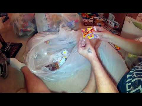 9 Big Bags Of Free Candy Dumpster Diving , Cvs And Dollar General