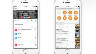 iOS 9 Apple Maps Transit Demo