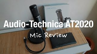 Audio Technica AT2020 - XLR Microphone Review (Youtube, Podcast, Streaming)