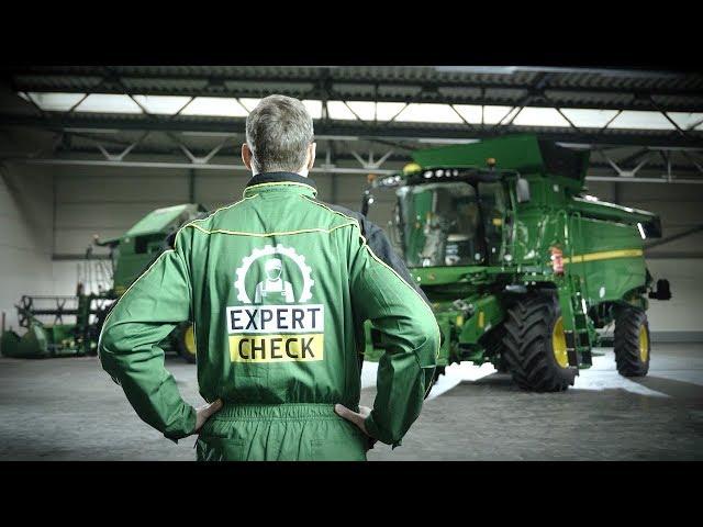 John Deere   Expert Check Combine