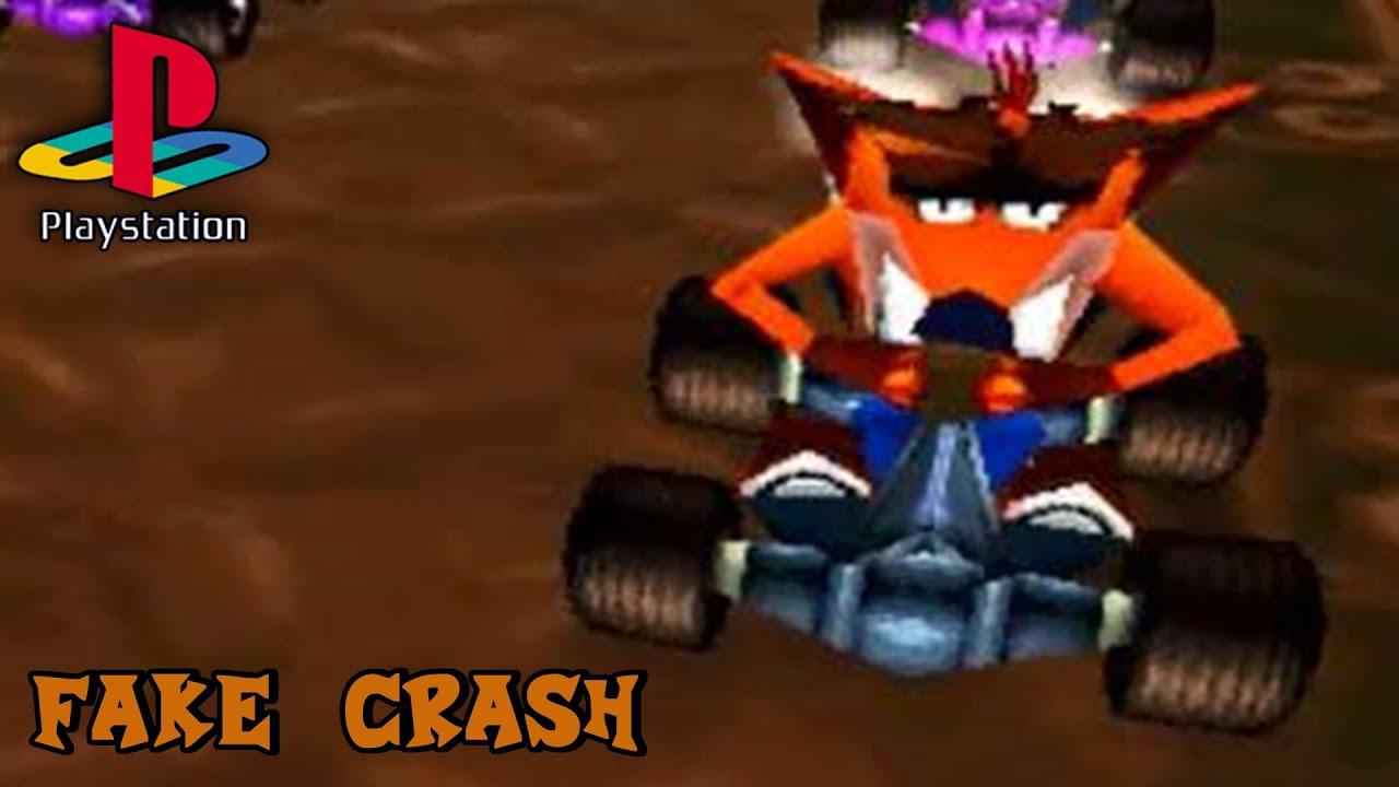 Crash Team Racing (PS1) - Fake Crash Gameplay