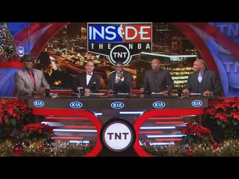 """Inside The NBA (on TNT) """"Throwback"""" Full Episode – Chariots Of Backfire Race – 12/12/13"""