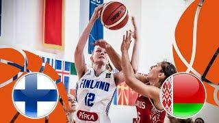 Finland v Belarus - Full Game - FIBA U16 Women's European Championship Division B 2018