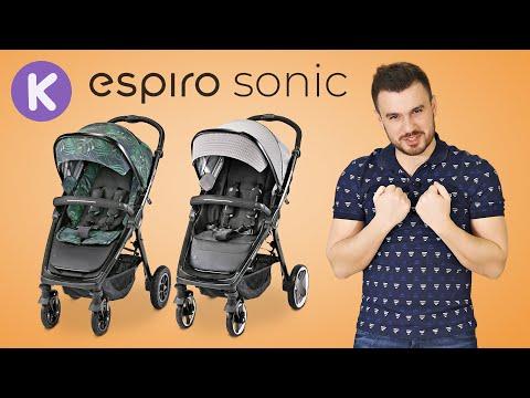 Новые прогулочные коляски Espiro Sonic и Эспиро Соник Air. Видео обзор прогулочной коляски 2020