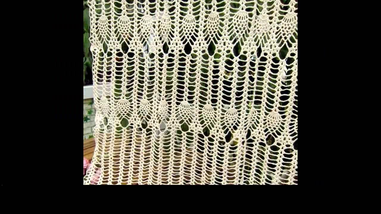Free Crochet Curtains Tutorial
