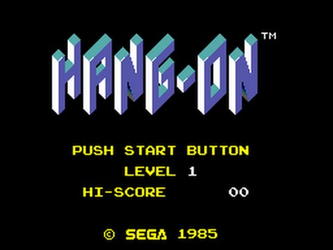 Master System Longplay [073] Hang-On