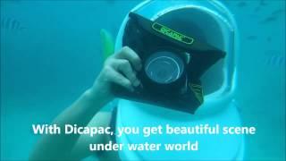 [DiCAPac] Waterproof test under 6 meters in Phi Phi island of Thailand