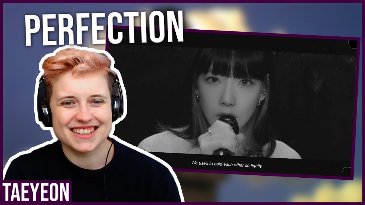 REACTION to TAEYEON – WHAT DO I CALL YOU LIVE CLIP