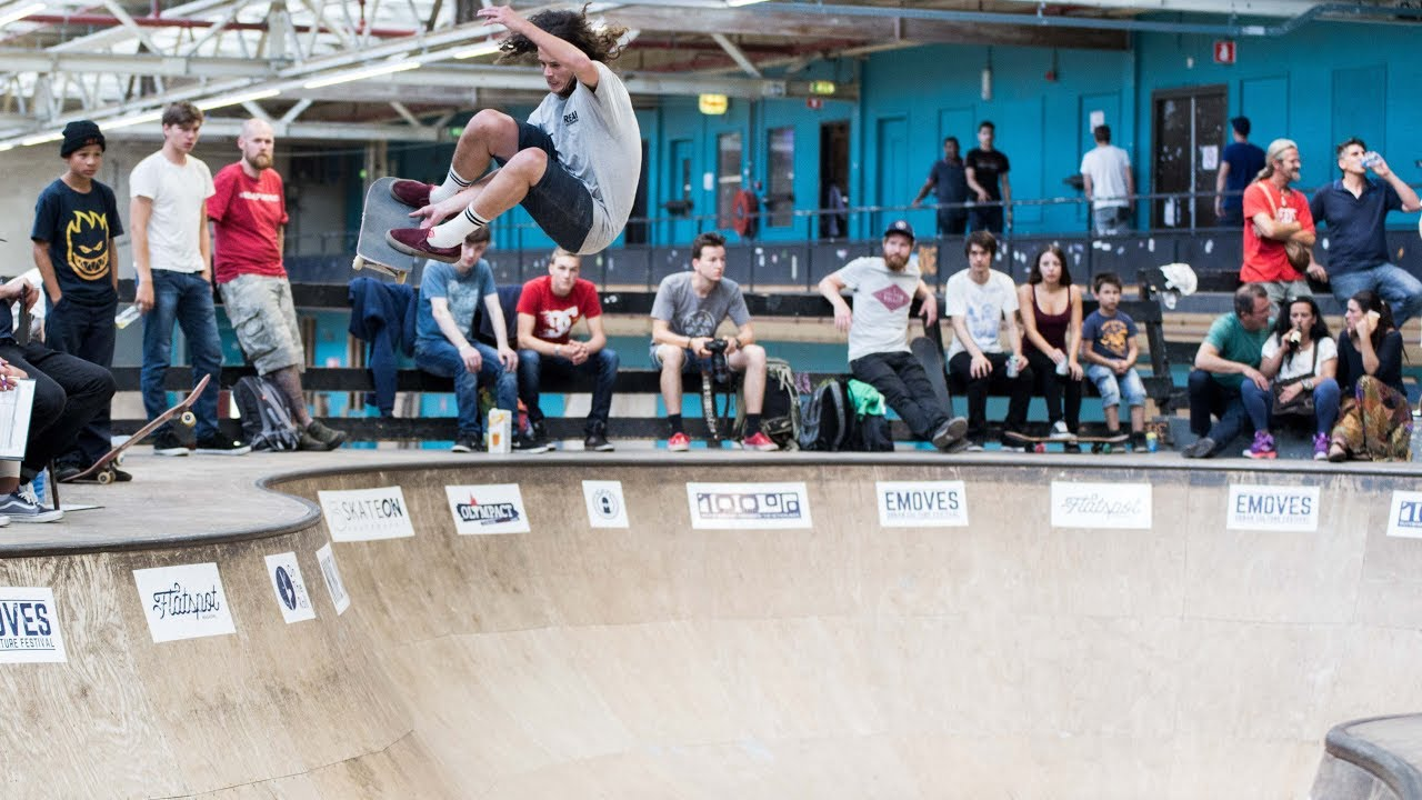 664f1fe37ad NK Skateboarden Bowl 2017 - YouTube