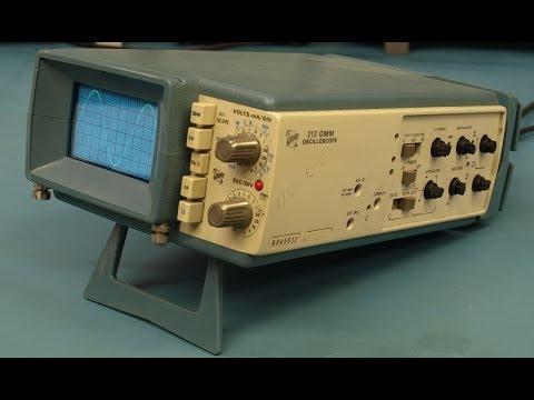 EEVblog #628 - Tektronix 213 Vintage Portable Oscilloscope Teardown