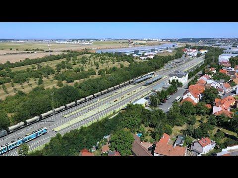 Modernizace trati Praha-Ruzyně