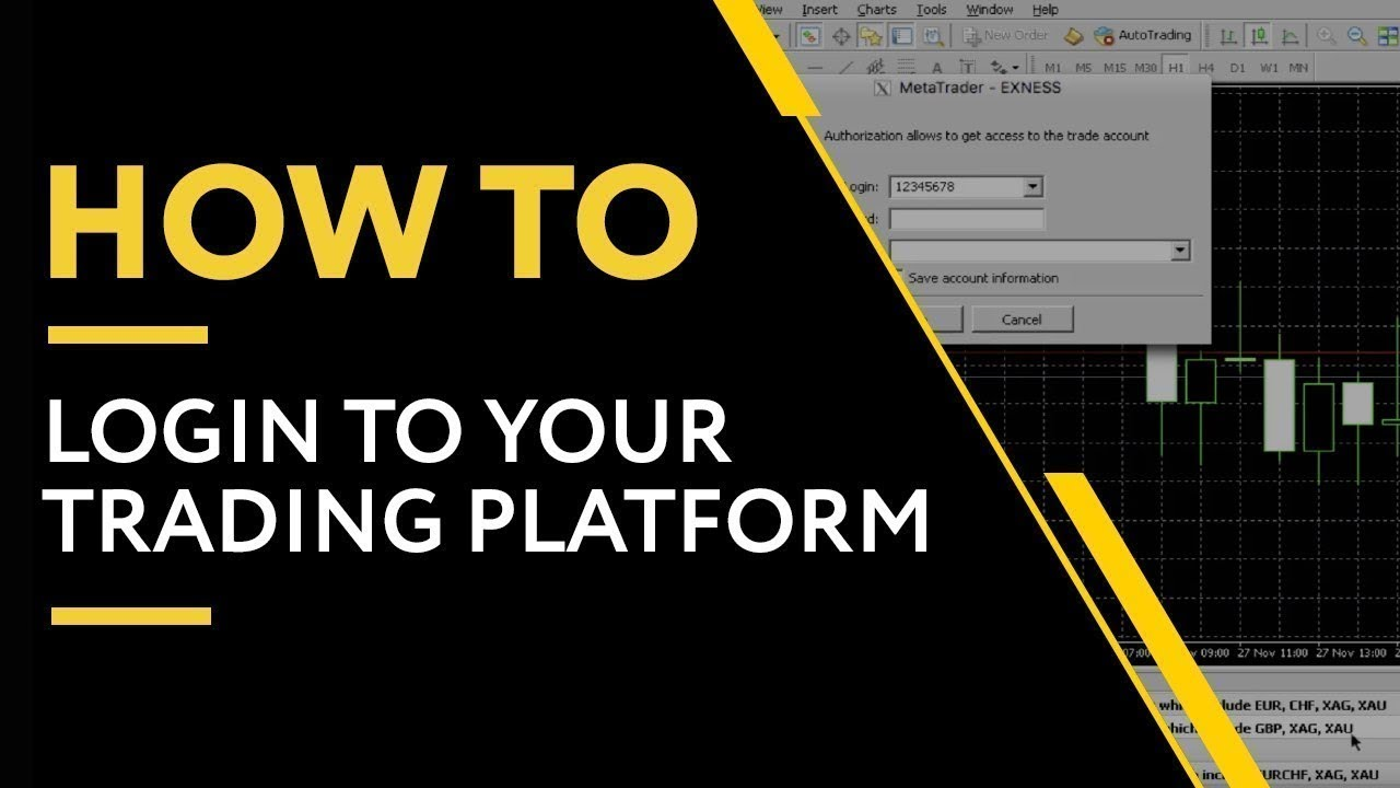 How To Log In To Your Trading Platform Exness Youtube