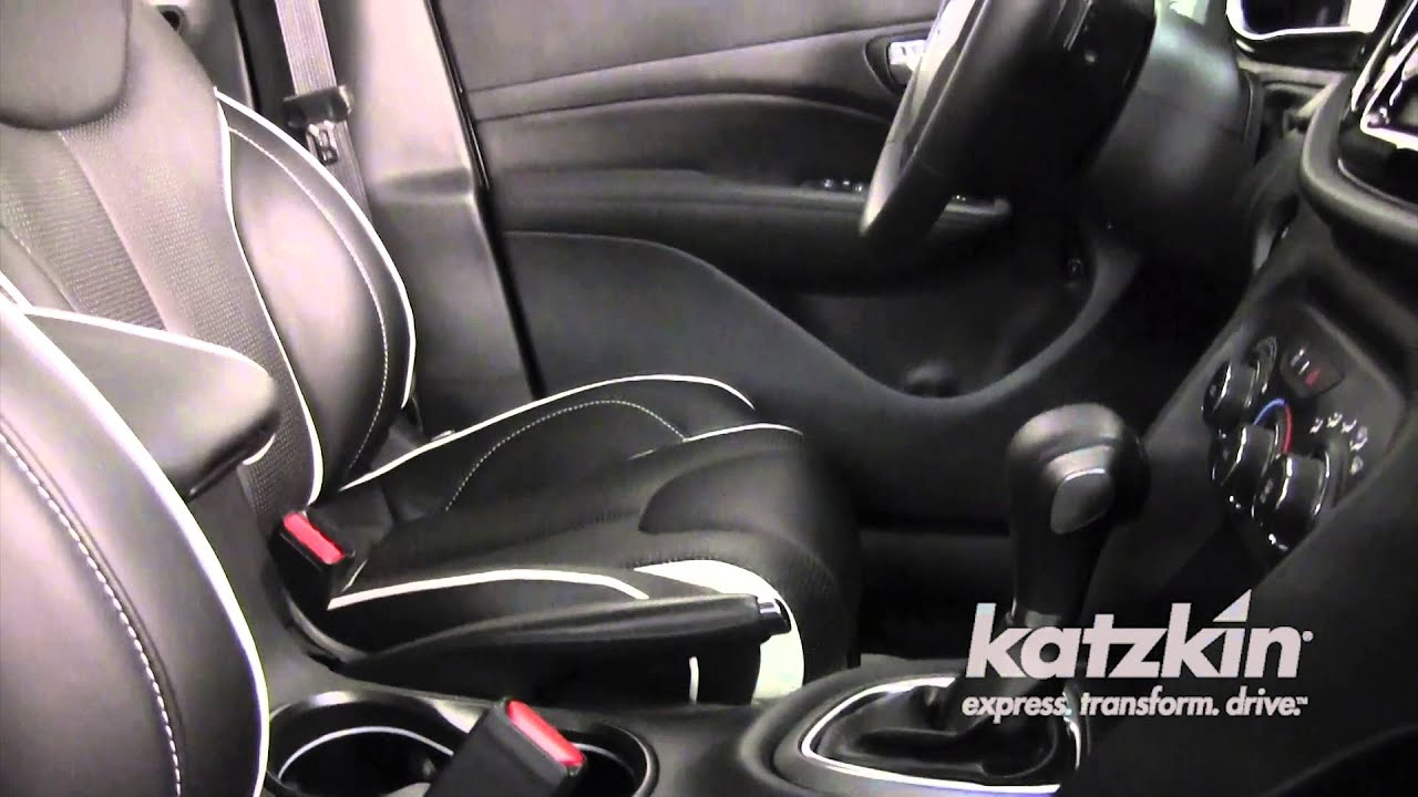 Katzkin Leather Interior For The 2013 Dodge Dart Youtube