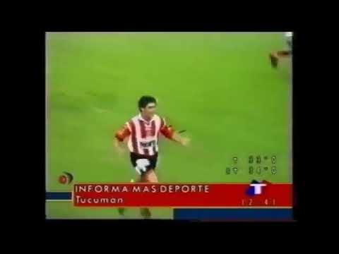 Gol de Ferreyra a Brown (San Martín de Tucumán 1 Brown de Arrecifes 0 Nac B 1999/2000)