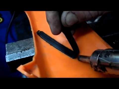 Своими руками ремонт пластика мотоцикла