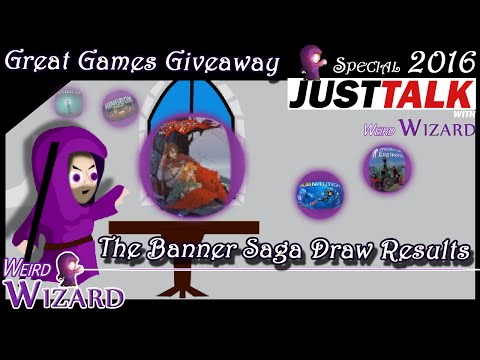 The Banner Saga Great Games Giveaway Prize Draw! |