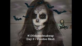 Voodoo Skull Makeup Tutorial - Recreating @natasha_noemi's work | Theodora Olivia