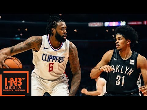 LA Clippers vs Brooklyn Nets Full Game Highlights / March 4 / 2017-18 NBA Season