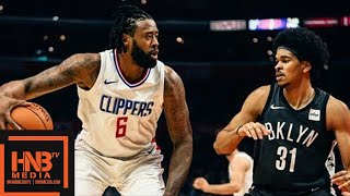 LA Clippers vs Brooklyn Nets Full Game Highlights / March 4 / 2017-18 NBA Season