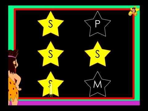 Letter S recognition -  kindergarten worksheet