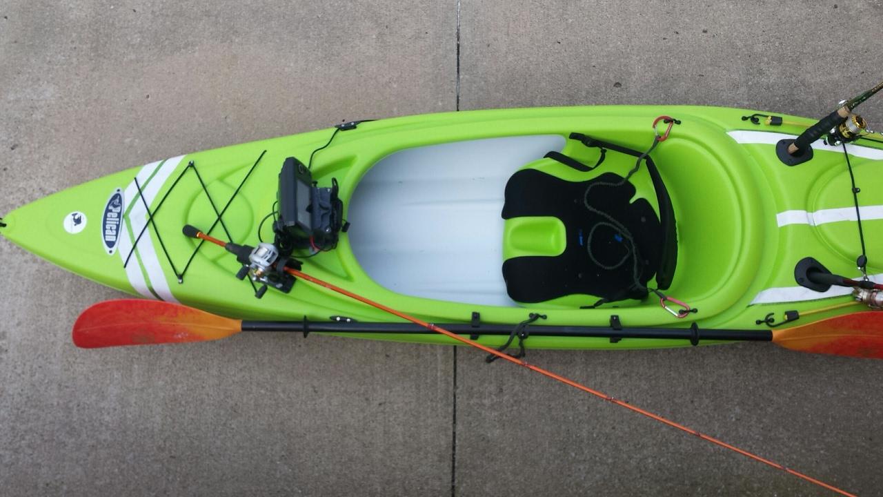Pelican Trail Blazer 100 Kayak Conversion