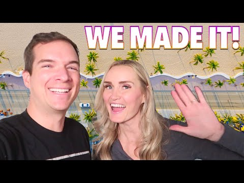 WE MADE IT!! OUR NEW HOME IN FLORIDA 🏖 MOVING ACROSS THE COUNTRY ROAD TRIP 🚗🗺 WE FINALLY ARRIVED!
