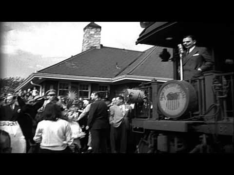 Women campaign for Thomas Dewey, the Republican candidate during the United State...HD Stock Footage