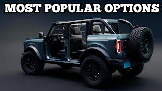2021 Bronco's most popular options and trim levels! | Bronco news