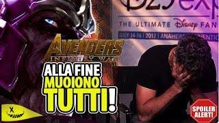 Svelato il finale di Avengers: Infinity War [SPOILER]