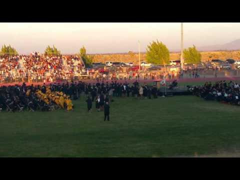 Pete Knight High School Graduation 2015