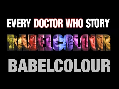 Every Doctor Who Story 1963-2018 - by BabelColour