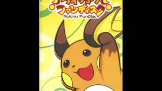 Raichu Fandisc - 1,000,000V Cuteness!!