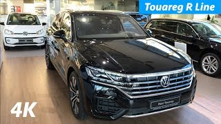 Volkswagen Touareg 2019 R Line package - detail look in 4K