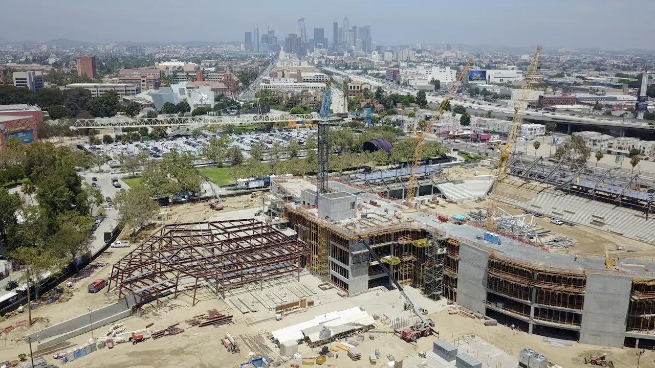 Banc Of California Stadium Update  July 26, 2017 Youtube