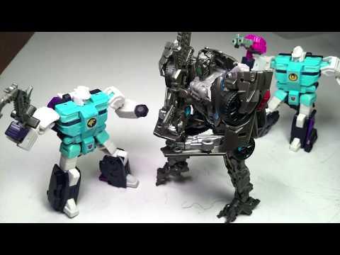 Transformers Takara Tomy LG-61 Decepticon Clone Set