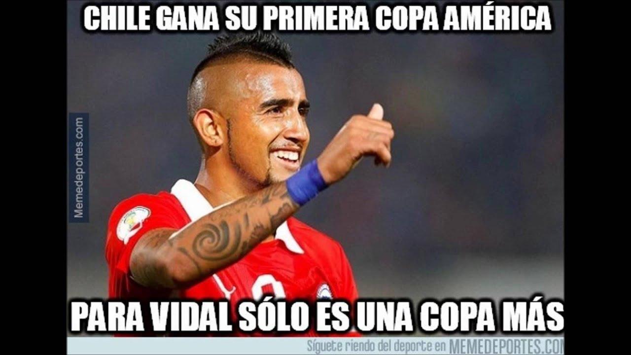 Recopilación de los mejores memes de la copa américa chile 2015 parte 1