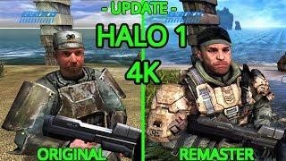 XBOX ONE X (4K) HALO 1 MCC (UPDATE) Original vs Remaster