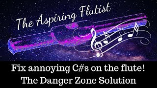"Fix annoying C#s on the flute! The Danger Zone Solution (or ""The Janna"")"