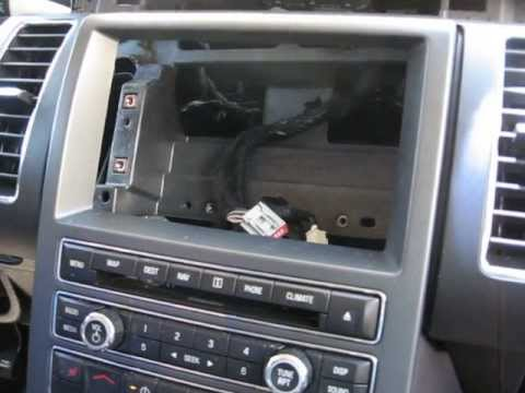 How To Remove Radio Navigation Display From 2011 Ford