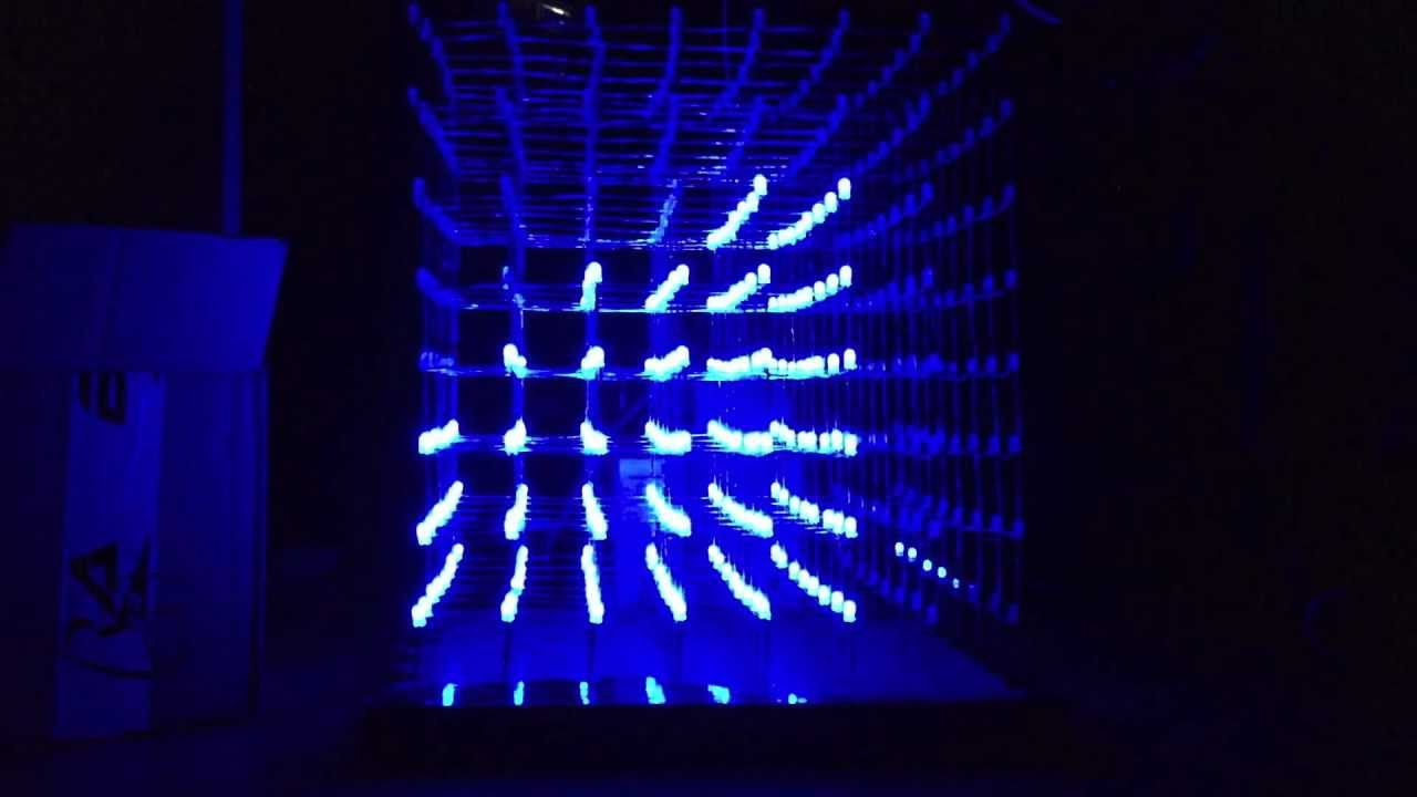 X led cube music visualizer youtube