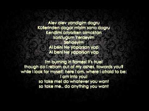 Feridun Düzağaç - Alev Alev ( English translation)