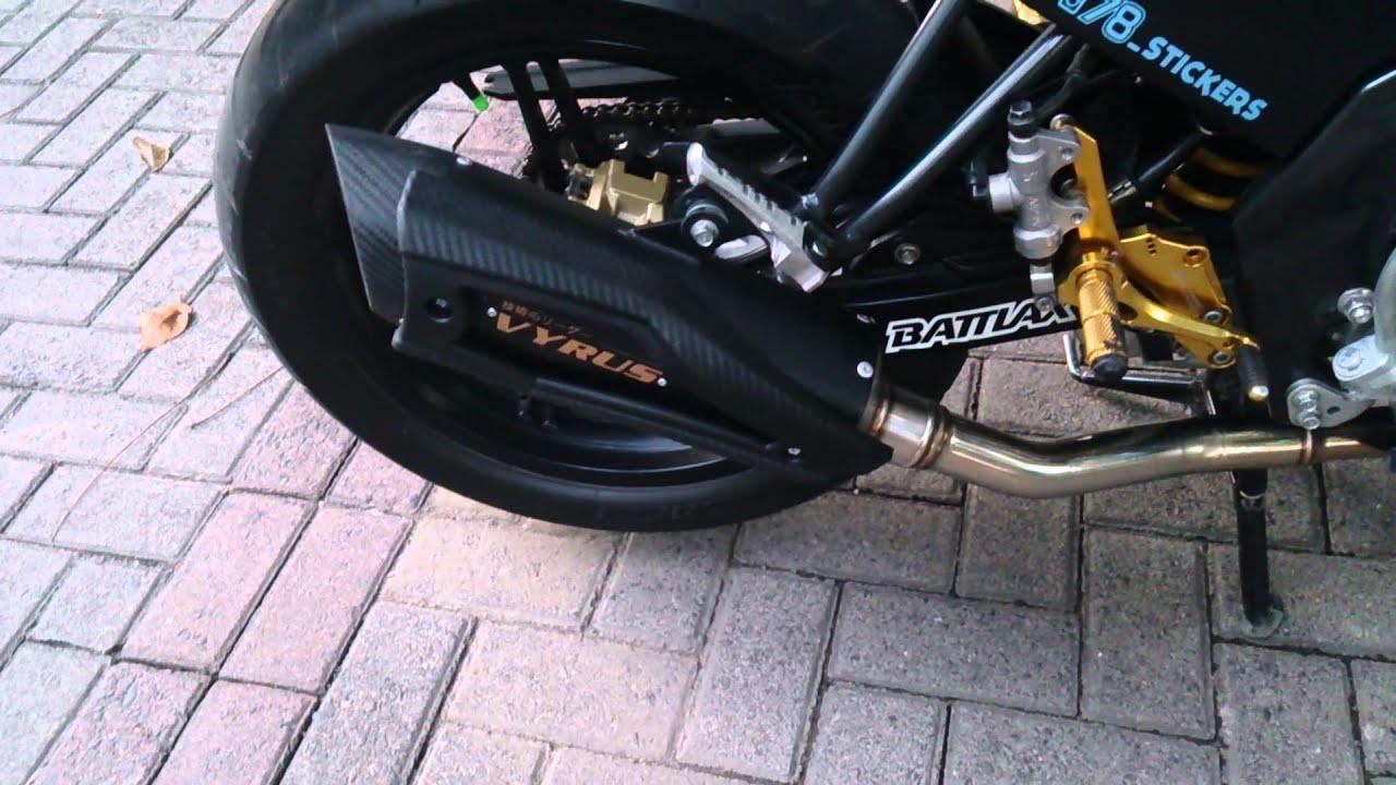 R9 Vyrus Exhaust Full System On Nvl Fz150 By Xperia Z Prospeed Black Series Yamaha Jupiter Mxking150